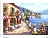 Overlook Cafe I Framed Print