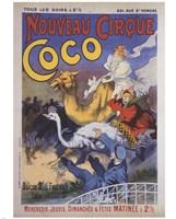 Nouveau Cirque Coco Fine Art Print