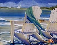 Seaside Breeze Framed Print