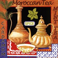 Moroccan Tea Framed Print