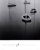 Four Sailboats, Cape Cod Framed Print