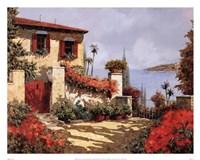 Il Gardino Rosso Fine Art Print