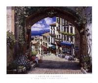 Arch De Cagnes Fine Art Print