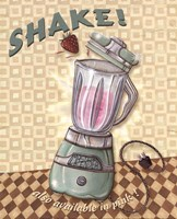 Nifty Fifties - Shake Fine Art Print