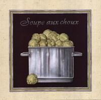 Soupe Aux Choux Framed Print