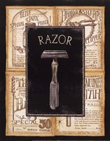 Grooming Razor Fine Art Print