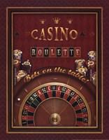 Roulette Framed Print