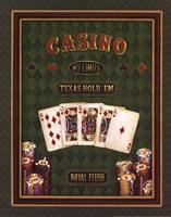 Texas Hold 'Em Framed Print
