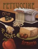 Fettuccine Framed Print