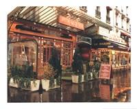Bistro De La Gare Fine Art Print