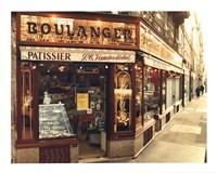 Boulangier Patissier Fine Art Print