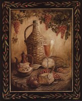 Tuscan Table - Orvieto - Mini Framed Print