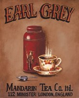 Earl Grey - Mini Framed Print