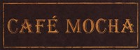 Cafe Mocha Framed Print