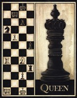 Classic Queen Framed Print