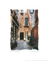 Venice Courtyard Fine Art Print