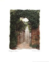 Passage To Eden Framed Print
