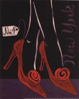 High Heels New York Fine Art Print
