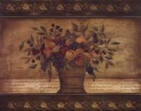 Old World Abundance II Framed Print