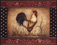 Cock-A-Doodle-Doo - Mini Fine Art Print