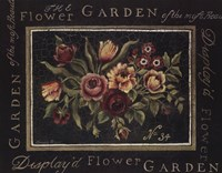 Flower Garden No 34 Fine Art Print
