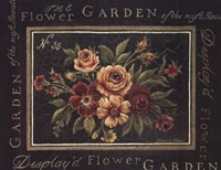 Flower Garden No 35 Framed Print