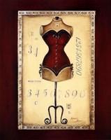 Taille De Robe I Framed Print
