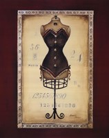 Taille De Robe II Framed Print