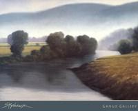 River Meadows Fine Art Print
