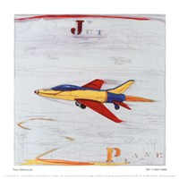 Jet Fine Art Print