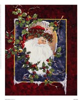 Santa's Portrait Fine Art Print