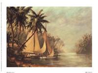 Rum Cay Framed Print