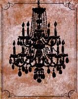 Chandelier II Fine Art Print
