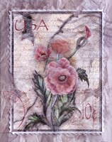 Love Letter Poppies Fine Art Print