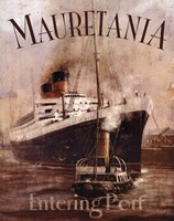 Mauretania Framed Print