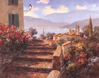 Stairstep Vista Fine Art Print