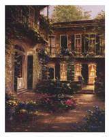 Spring Courtyard II Fine Art Print