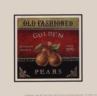 Golden Pears - Special Framed Print