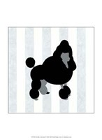 Poodle In Neutral Fine Art Print
