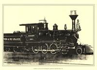 Locomotive III Framed Print