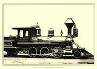 Locomotive VI Framed Print