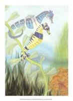 Seahorse Serenade III Fine Art Print