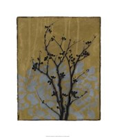 Branch In Silhouette VI Framed Print