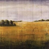 Earth Meets Sky I Framed Print