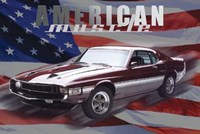 Gt-350 - American Muscle (Mural) Wall Poster