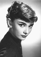 Audrey Hepburn - Close Up (Mural) Wall Poster