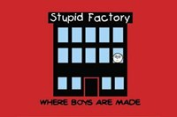 Boys Are Stupid-Stupid Factory Wall Poster