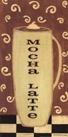 Mocha Latte Fine Art Print