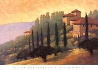 Villa D'or II Fine Art Print