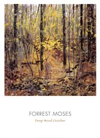 Deep Wood October Fine Art Print